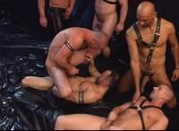 Dark Alley Leather Punks Orgy