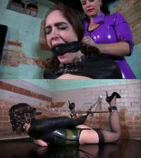Super Bondage, Suspension, Torture And Hogtie For Young Girl
