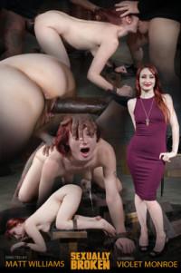 SexuallyBroken – Apr 15, 2016 – Stunning Starlet Violet Monroe Restrained Doggy Style