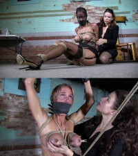 Super Torture And Bondage For Beautiful Blonde Bitch