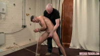 Leo – Tied Undressed, Flogged, Gagged, Sphincter Widened