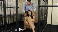 Tight Tying, Domination And Spanking For Undressed Brunette Hair Part 1