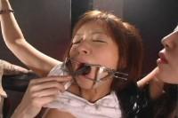 Lesbian Gang Of Snake Tied Akane Mochida