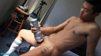 BentleyRace – Alex Strokes His Cock And Cums All Over Me In His First Video