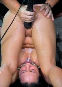 Mahina Bound In A Pile Driver Position, Fucked Made To Squirt In Her Own Mouth , HD 720p