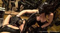 Tight Bondage, Domination And Torture For Horny Slavegirl In Latex