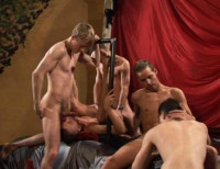 Hot Orgy With Young Anal Idols