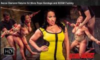 SexualDisgrace – Dec 05, 2014 – Becca Diamond Returns For More Rope Bondage And BDSM Fucking