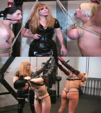 Hard Bondage, Domination And Torture For Two Naked Models