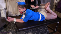 A Adult Baby Tying, Foot Whipping And Challenging Gags For Rachel Adams, Borntobebound