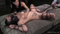 HardTied  Veruca James Double Team Tease