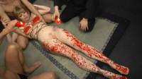 Rough POWER PLAY Training For Blonde Slave Adrianna Nicole