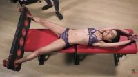 Bdsm Most Popular Sandra Intense Tickling In Y Pose