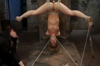 Couples Blonde Rope Slave