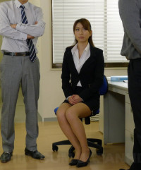 Office Lady Melia Rika Is Fucked By Her Superiors FullHD 1080p