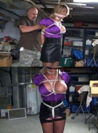Hunterslair – Brutally Bound, Gagged And Left Choking In Her Basement