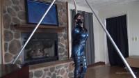 Hobble Dress And Leather Bondage