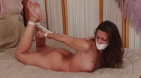 Bound And Gagged – Barefoot Hogtie For Cassidy Klein