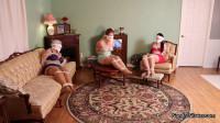 Sandra, Lisa & Caroline – Vintage Robbed Damsels Attempt Escape