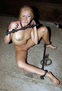 Young Girl In Hard BDSM
