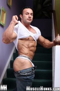 MuscleHunks Anton Buttone – The Buttmeister