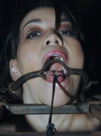 Sweet Little Girl In Pain Machine