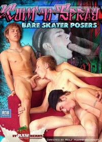 Bare Skater Posers – Cum N Spray