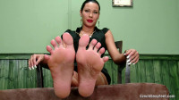 Czech Sexy Fetish Feet Pt1