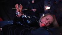 HD Pain Play Sex Vids Large Intense Session For Alla In Catsuit  Tickling And Foot Soreness To Tears