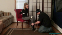 Rachel Lilly Tied In Sexy High Heeled Ankle Boots