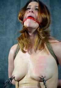 Redhead Sweet Pussy In Agony