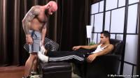 Drake Worships Azif's Feet