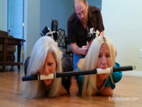Buxom MOTHER ID LIKE TO FUCK Businesswomen Brutally Bound And Bit-Gagged