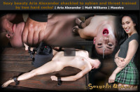 Sexuallybroken – Jan 06, 2016 – Sexy Beauty Aria Alexander Shackled To Sybian