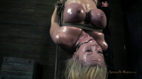 Courtney Taylor Bound To A 300lb 10×10 And Suspended – HD 720p