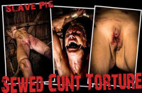 BM Pig – Sewed Cunt Torture