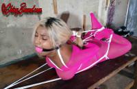 SBound – Desiree Lopez.. Stripper Hogtied
