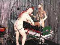 HD Bdsm Sex Videos Amanda Wildefyre's Rubber Slaves Rubber Doll Factory