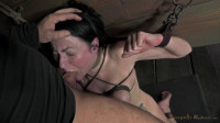Veruca James Shackled & Chained, Facefucked With Brutal Deep Throating