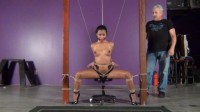 Drea Bondage Workout 14 Squats