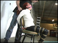 Ashley Graham Hogtied Tight, Gagged 3X – Part 1