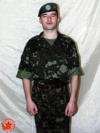 Ukrainian Uniform Soldiers 24 Set In 2993 Photo