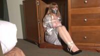 Big-Boob Hotel Maid Lorelei Hopping In Bondage