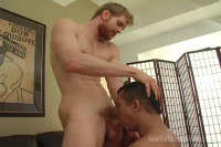 NewYorkStraightMen Servicing A Ginger Haired Giant