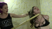 Constricted Tying, Strappado And Domination For Lascivious Slavegirl HD 1080p