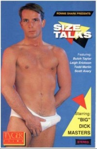 Bareback Size Talks (1989) – Big Dick Masters, Leigh Erickson, Todd Martin