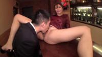 Slutty Pub Owner With Erect Nipples