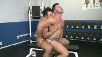 Nick Gets His Ass Pounded By The Bodybuilding Beauty Dan Then Gets Fed His Hot Load