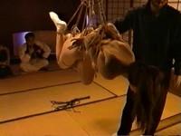 Mana Ueda Geisha Suspension Bondage Video