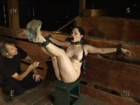 The Girl Torment In A Shed